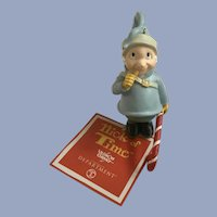 Dept 56 Christmas Ornament Gnome with Candy Elf Nick of Time 2001 NIB