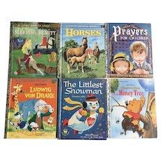 Sleeping Beauty 1957 The Little Snowman 1958 Children's Short Story books Various Titles