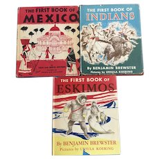 Children's First book of Mexico, Indians, Eskimos By Epstein, and Benjamin Brewster Hardcover Books