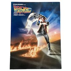Back To The Future Hollywood Premiere First Showing Actors Attended Brochure 1985