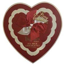 Vintage Rare Brecht Valentines Heart Chocolates Candy Box Cardboard Denver, Colorado