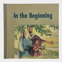 In The Beginning Religious Children's Biblical Short Stories Book Robbie Trent 1949 Westminster Press