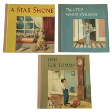 Westminster Press Time For Tommy, A Star Shone and Little White Church Children's Books