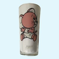 Pepsi Tuffy Mouse 1975 MGM Tall 16oz Highball Tumbler Glass