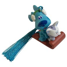Blues Clues and Periwinkle the Kitten Cat Christmas Tree Ornament Hallmark Cards
