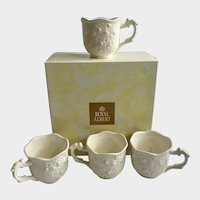 Royal Albert Punch Cups English Buffet Old Country Roses Royal Doulton Porcelain