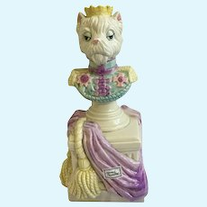Fitz and Floyd Duke of Yorkshire Terrier Anthropomorphic Dog Figurine FF Reigning Cats & Dogs