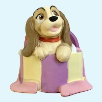 Disney Li'l Classics Lady and the Tramp Dog Figurine