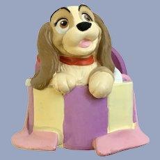 Disney Li'l Classics Lady and the Tramp Dog Figurine