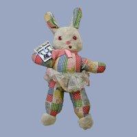 The Rushton Company Easter Bunny Rabbit Plush Stuffed Animal Atlanta, Ga.