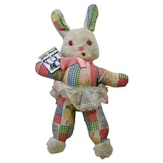 The Rushton Company Easter Bunny Rabbit Plush Stuffed Animal Atlanta, Ga.
