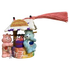 Care Bears Wishing Well Christmas Ornament with New Tassel 2005