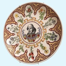 Wedgwood Flowers From Shakespeare Porcelain Plate The Winter's Tale IV 4