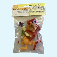 1993 Garfield & Odie Wilton Cake Topper Figures Children Set New