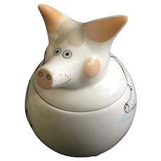 Villeroy & Boch Hog Pig Trinket Box Piggy by Rosemarie Benedikt