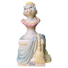 Fitz and Floyd Duchess of Catworth Anthropomorphic Cat Figurine FF Reigning Cats & Dogs