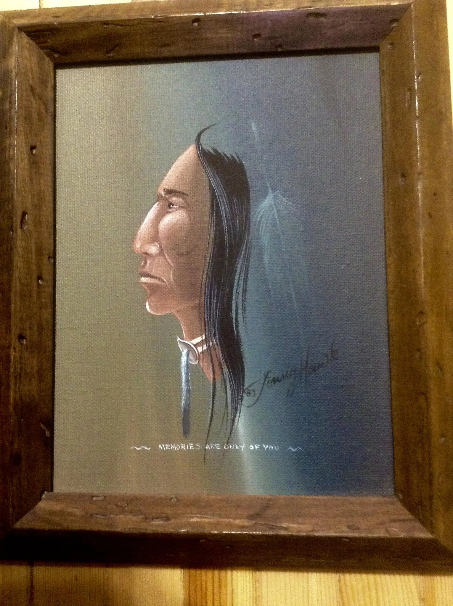 tommy hawk  oil paintings on canvas indian chief  u0026 native