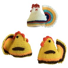 Adorable Easter Crochet Chicken Egg Covers