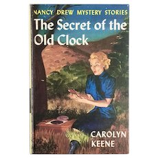 Nancy Drew 1959 The Secret of the Old Clock Book