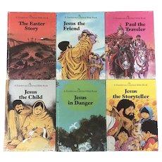 Children's Books Bible Stories A Zonderman Ladybird Hardcover Set 6 1980