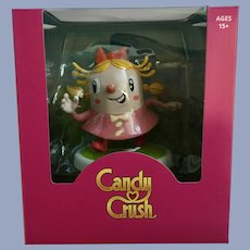 Candy Crush Tiffi Figurine Happy Worker Figurine NIB