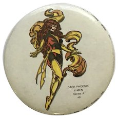 Marvel Comics Group Dark Phoenix #9 X-Men Series A Jane Grey 1984 Pin