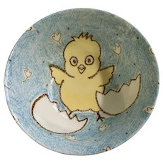 Easter Chick Hatching Rice Bowl Made in Japan