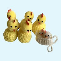 Adorable Easter Crochet Chicks Chicken Egg Covers