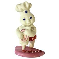 Danbury Mint Pillsbury Doughboy February Calendar Valentines Figurine