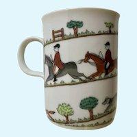 Vintage Fox Hunt Scene Sigma Taste Setter Coffee Cup Mug
