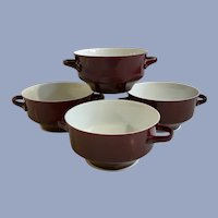 Mid-Century Modern Bareuther Waldsassen Bavaria Germany 103 Soup Bowls