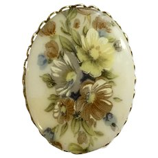 Cluster of flowers Brooch Pin
