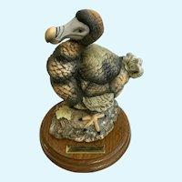 Aldon Vanished Species Dodo Bisque Bird Limited Edition Figurine