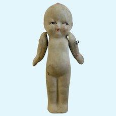Vintage Miniature Bisque Kewpie Doll Jointed Arms Japan