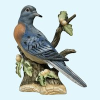 Passenger Pigeon Bird Figurine Aldon Vanished Species Bisque Limited Edition