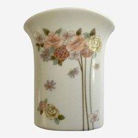 Takahashi Small Joy Floral Vase Ceramic San Francisco Made Japan