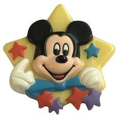 Vintage Mickey Mouse Disney Star Avon 1989