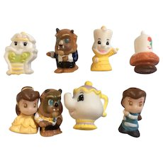Disney Beauty & The Beast Blip Squinkies Pack Collectable Toys