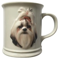 Shih Tzu Dog Ceramic Coffee Mug Barbara Augello Best Friends Originals