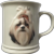 Shih Tzu Dog Ceramic Coffee Mug Barbara Augello Best Friends Originals