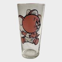 Pepsi Tuffy Mouse 1975 MGM Tall 16oz Highball Tumbler Glass
