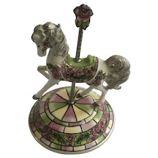 Rare Hamilton Collection Carousel Horse  Royal Delight Limited Edition Figurine