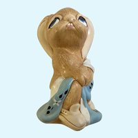Pendelfin Stonecraft Totty Potty Bunny Rabbit Figurine Made in England