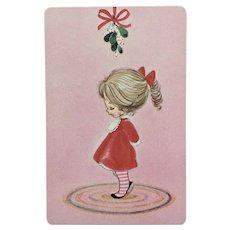 Vintage Christmas Stardust Deck of Cards New All-Plastic