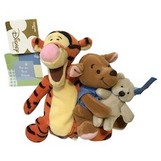 Tigger, Roo and Teddy Bear Friendship Day Plush Stuffed Animal