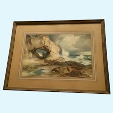Vintage Treasure Island Moran Print 1919