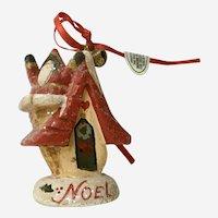 House of Hatten Christmas Tree Ornament Santa Claus Noel 1997
