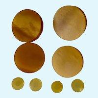 Mid-Century Round Bakelite Buttons