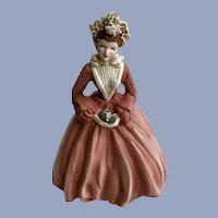 Florence Ceramics Crinoline Lady Sue Ellen Figurine California Pottery
