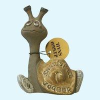 Silly Sluggo Snail By Pottery Craft Place Jogger USA Figurine